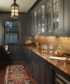 40 Elegant Butler's Pantries - Inspiration - Dering Hall