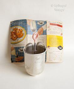 Vintage Retro 1950s TALA Donut Doughnut Maker Syringe Pink Handle & Original Box by UpStagedVintage on Etsy