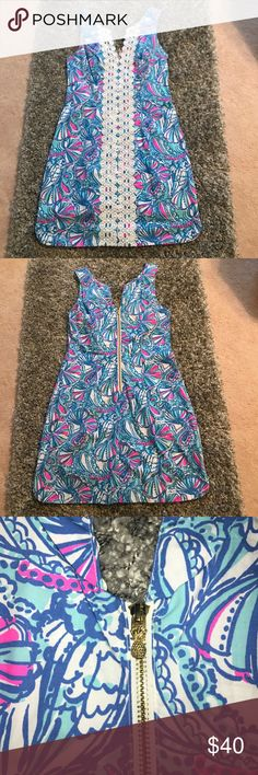 Lilly Pulitzer for Target Shift Dress Size 6 Lilly for Target Shift dress. My Fans print. Worn once, excellent condition. Lilly Pulitzer for Target Dresses