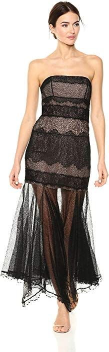 Looking for Halston Heritage Women's Strapless Lace Gown Handkerchief Skirt ? Check out our picks for the Halston Heritage Women's Strapless Lace Gown Handkerchief Skirt from the popular stores - all in one. Crepe Dress, Chiffon Dress, Lace Dress, Pageant Dresses, Club Dresses, Handkerchief Skirt, Formal Dress Shops, Contemporary Dresses, Long Evening Gowns