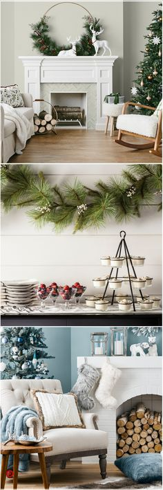 Shop Target for artificial & wreath you will love at great low prices. Free shipping on orders of $35+ or free same-day pick-up in store. Christmas Mantels, Christmas 2019, Winter Christmas, Christmas Home, Christmas Decor, Christmas Wreaths, Christmas Ideas, Woodland Christmas, Country Christmas