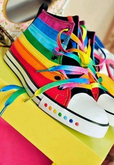 Cute. I want a pair of these,  but with a high heel : )