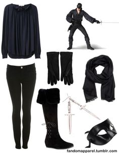 I think I would like to be the Dread Pirate Roberts for Halloween this year..