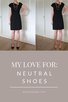 Neutral shoes are a must have for anyone who wants to be able to have a sophisticated shoe in their wardrobe. They also go with anything that you want to wear. #style #shoes #neutral