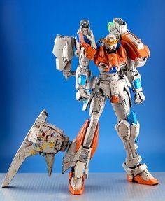 GUNDAM GUY: HGBF 1/144 Build Burning Gundam [Last Try] - Custom Build