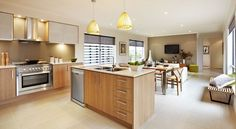 Gorgeous, Very Open Kitchen and Living Room