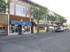 Downtown Montrose Colorado | The San Juan Mountains hover outside town.