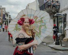 mardi gras bearded lady Bearded Lady, Hand Fan, Mardi Gras, Hand Fans, Fan
