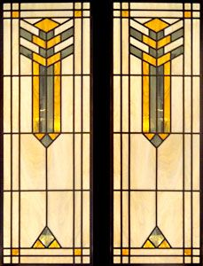 """frank lloyd wright stained glass  