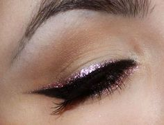Love # color# pink #eyeliner.