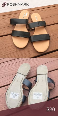 NEW! Black Express Sandals NEW! Black Express Sandals in size 7 Express Shoes Sandals