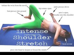 How to do Intense Shoulder Stretch — YOGABYCANDACE