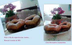Cozinhando com Bernadete: ROSCA DE MANTEIGA DE REQUEIJÃO