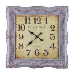 Square Framed Clock