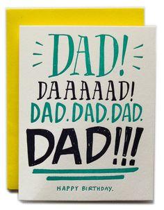 Dad!!!!! Happy Birthday! More