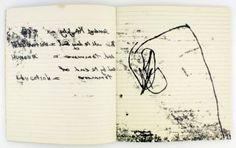 Tracey Emin - monoprint diary