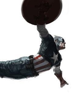 Captain America | Marko Djurdjevic