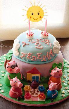 Peppa Pig Cake <3