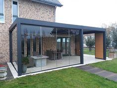 Pergola For Small Backyard Outdoor Decor, Pergola With Roof, Diy Patio, Pergola Lighting, Free Standing Pergola