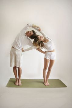 Try Yoga with a partner and combine your abilities for a deeper practice together - which will push you both beyond your boundaries and limits.