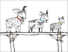 Kolme pukkia | Papunet Fairy Tales, Moose Art, Language, Teaching, Kids, Animals, Children, Animales, Boys