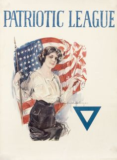 Patriotic League by Christy, Howard Chandler | International Poster Gallery