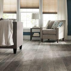 Porcelain or ceramic tile planks that look like real wood.
