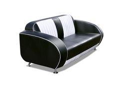 Bel Air Retro Double Seater Sofa