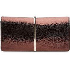 Nina Ricci Textured Leather Clutch
