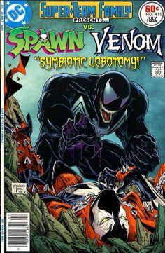 Symbiote vs. Symbiote