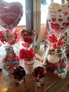 Assorted Valentine gifts