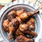 Grilled Moroccan Chicken Drumsticks-4