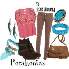 Pocahontas, created by lalakay.polyvore.com