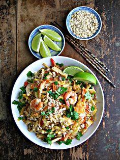 My favourite dish : Pad Thai with Prawn & Tofu