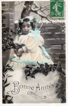 French antique postcards little girl 169 by Fairymelodycollect on Etsy antique…