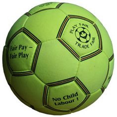 Fair Trade Soccer Ball