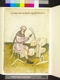 Mendel Housebook, Amb. 317.2° Folio 36 verso, c 1425, Nuremberg (Nürnberg)