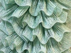 free pattern for crochet ruffle scarf | FREE Worldwide Shipping Samba yarn. Mint green. Ruffle scarf yarn ...