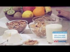 Sane abitudini: la colazione - ViviDanone.it - YouTube