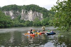 A stand-up paddleboard trip on the New River in Giles County, Virginia