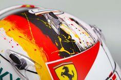 Sebastian Vettel Helmet #4 2016
