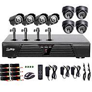 liview®+πλήρη+DVR+8+καναλιών+960h+και+εξωτερική+/+εσωτερική+κάμερα+σύστημα+600+TVLine…