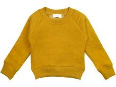 Simple Kids David Sweatshirt - Orange Mayonnaise