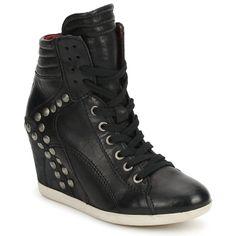 Sneaker High Mjus RADALGIO Schwarz - Kostenloser Versand ! - Schuhe Damen 119,20 €