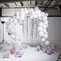 Introducing the Bonbon Balloon Arch!  #balloonarch #bonbonballoons