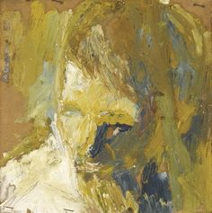 Prices and auction sale details for head of eow, Painting by artist Frank AUERBACH Frank Auerbach, Abstract Portrait, Portrait Art, Abstract Art, Portraits, Figure Painting, Painting & Drawing, Modern Art, Contemporary Art