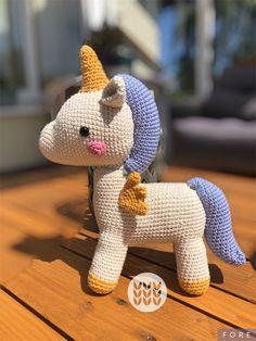 Unicorn in cotton