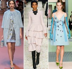 Fall/ Winter 2015-2016 Color Trends: Powdery Pastels