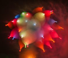 Photographer Alan Sailer's use of long exposure on fireworks resulted in gorgeous and unusual photos. They almost look like balloons! See more with My Modern Met.