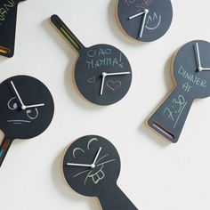 Tablito Clock by Diamantini & Domeniconi